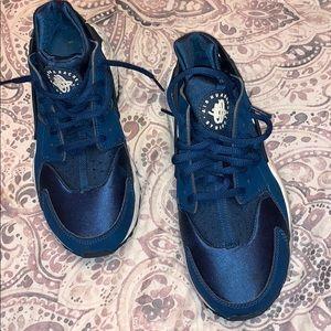 Nike huaraches blue force